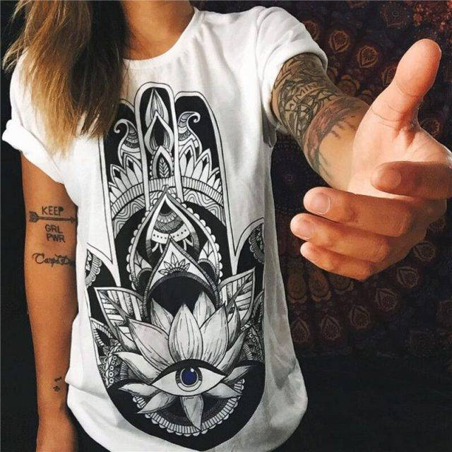 Dream Catcher Printed T-Shirt
