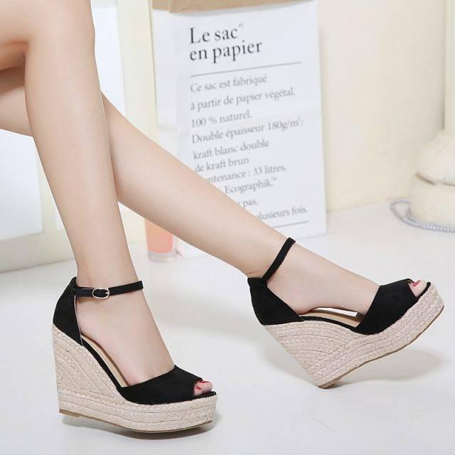 Fashion Bohemian Summer Peep-Toe Women's Platform Shoes