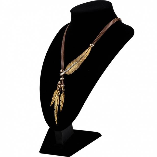 Boho Feather Necklace Boho Jewelry & Accessories Necklaces