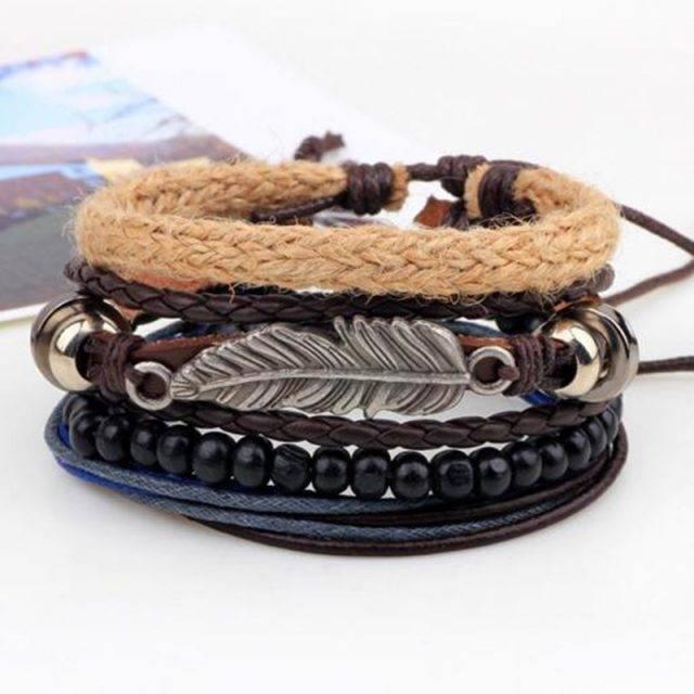 Boho Style Leather Bracelet Boho Jewelry & Accessories Bracelets