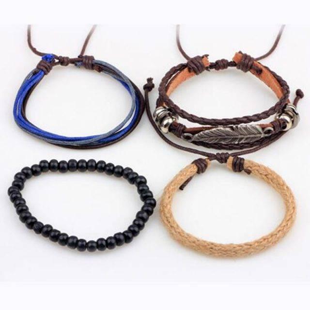 Boho Style Leather Bracelet