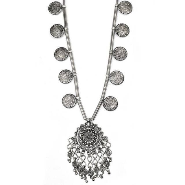 Bohemian Coin Necklace Boho Jewelry & Accessories Necklaces