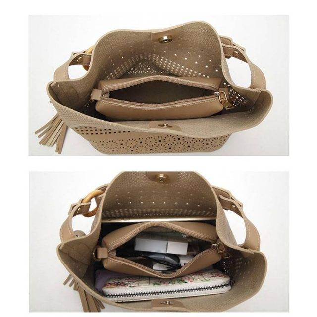 Boho Chic Hollow Out Bag