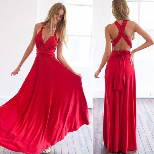 Boho Infinity, Convertible Multiway Maxi Dress Boho Dresses Maxi Dresses