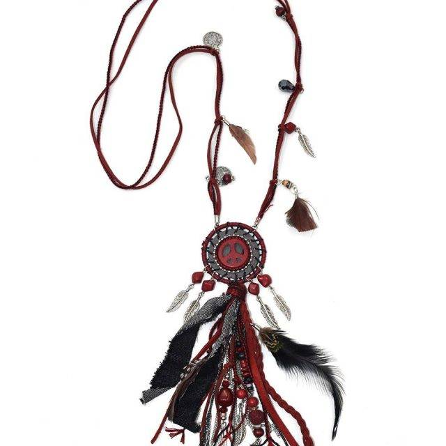 Handmade Boho Dream Catcher Necklace Boho Jewelry & Accessories Necklaces
