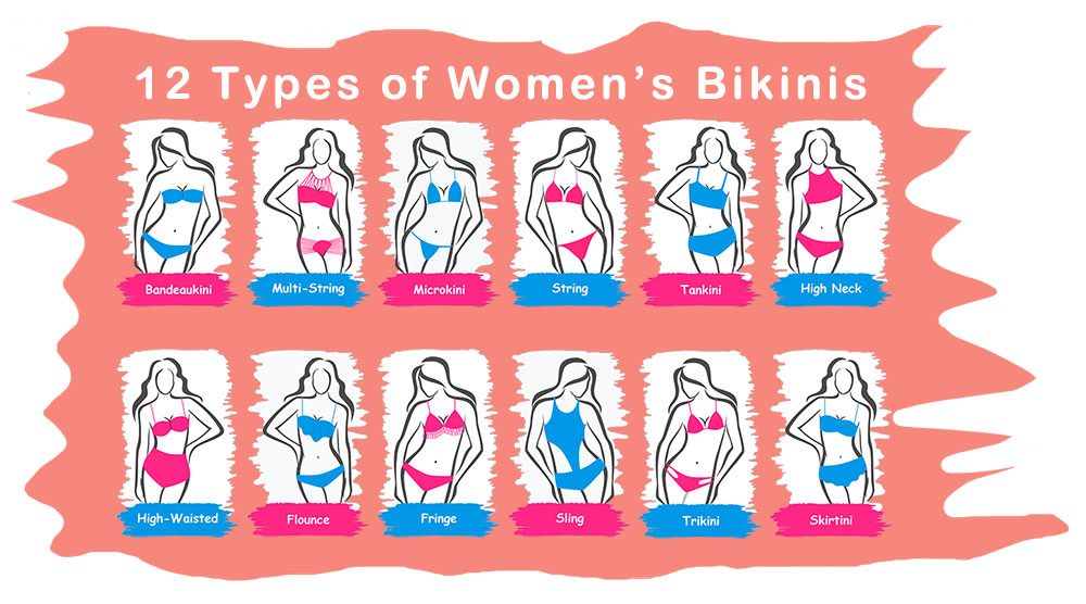 12 types of Bohemian Swimsuits