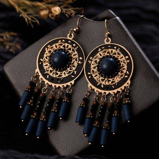 Boho Dangle Drop Earrings Earrings Boho Jewelry & Accessories Style : E020902|E020905|E020917|E021044|E021498|E021502|E021520|E021581|E021587|E021844