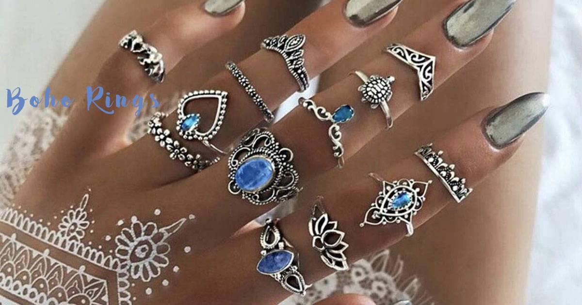 Divine Boho Style Rings for Women