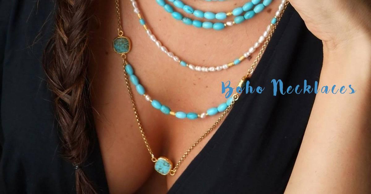 Boho Jewelry Wondrous Boho Necklaces